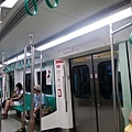 KRTC train inside