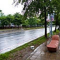 World Game Main Stadium side street furniture