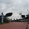 World Game Main Stadium entrance