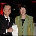 全台灣唯一獲紐西蘭總理Helen Clark親自頒獎表揚機構.jpg
