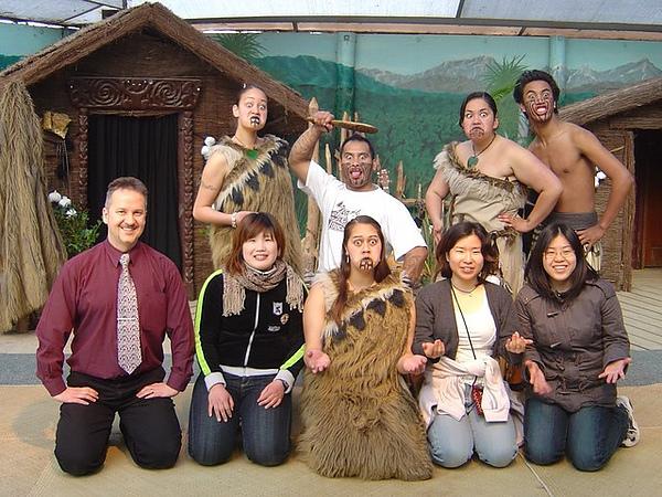 到這體驗正統的毛利文化^^.jpg