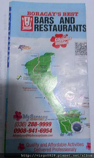長灘島 MAP