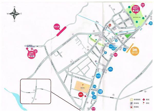 礁溪市區地圖