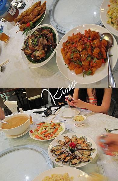 DAY1日輝飯店晚餐
