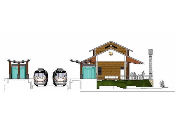 萬榮車站-側視圖-1