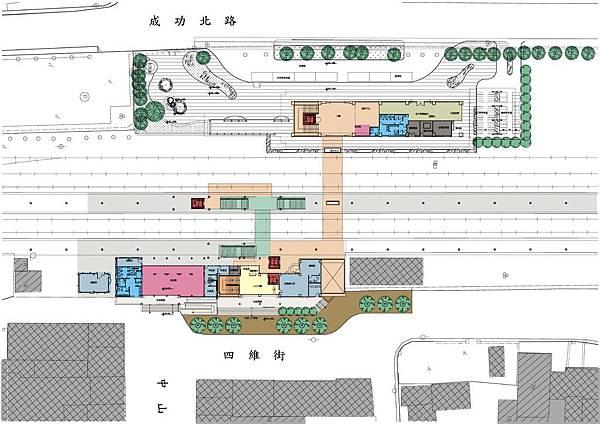 瑞穗車站-平面--1f