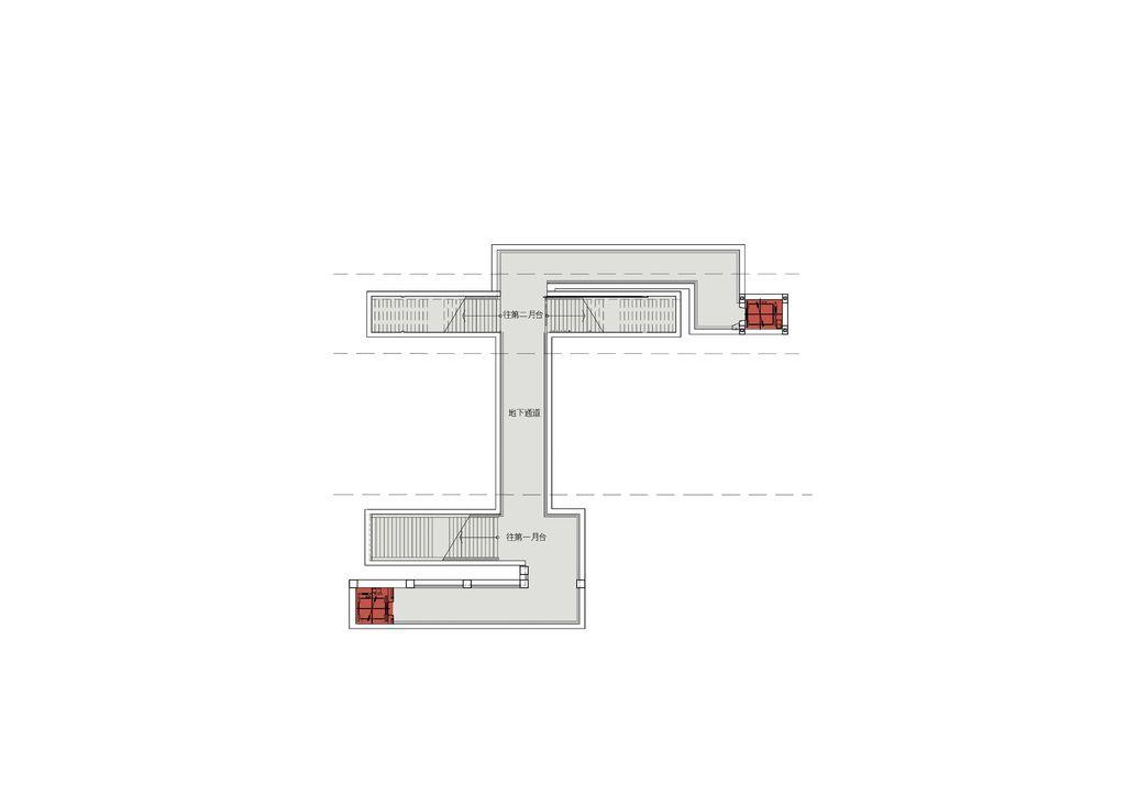 玉里車站-平面--b1f