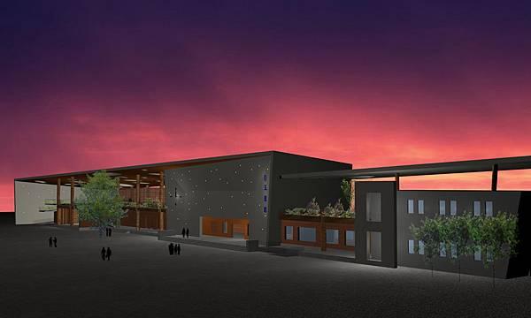 玉里車站-夜景3