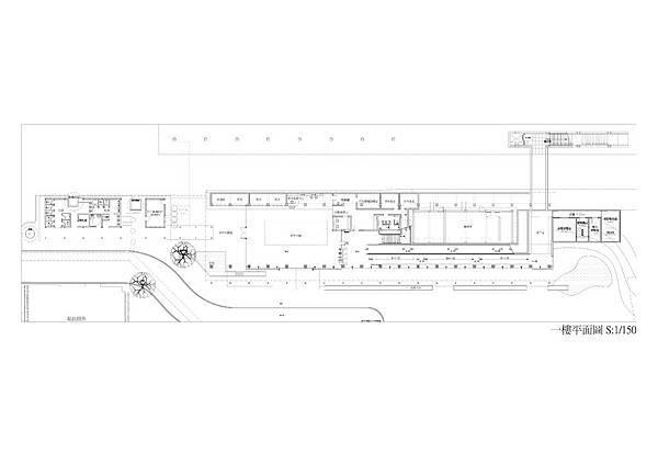 池上站1樓平面圖
