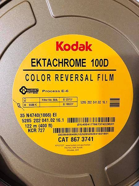 Ektachrome 100D