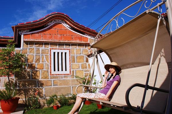 庭院觀星休閒搖椅