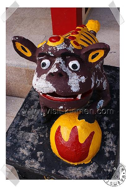 三魚王公廟石獅