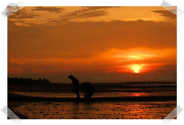 瓊林海岸的夕陽.JPG
