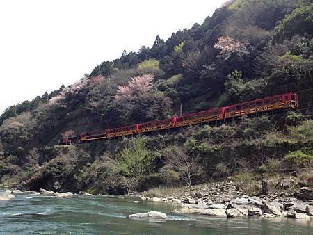 保津川遊船 小火車