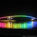 晚上才美麗的虹揚橋