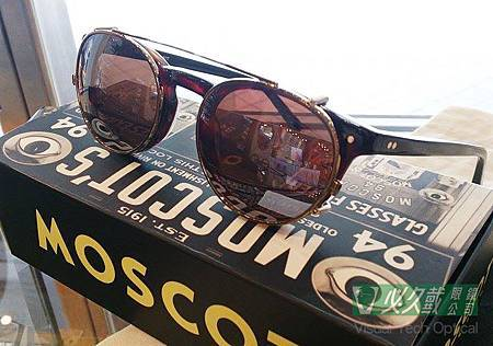 Moscot Frankie with Clip-On