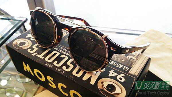 Moscot Miltzen with Clip-On