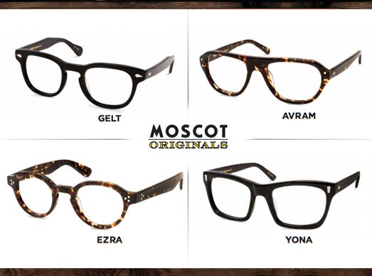 Moscot @ 必久戴眼鏡
