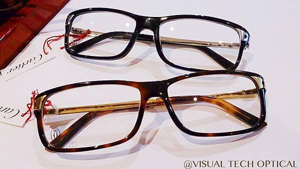 Cartier 卡地亞 Trinity de Cartier 三環系列 眼鏡 必久戴眼鏡 Visual Tech Optical