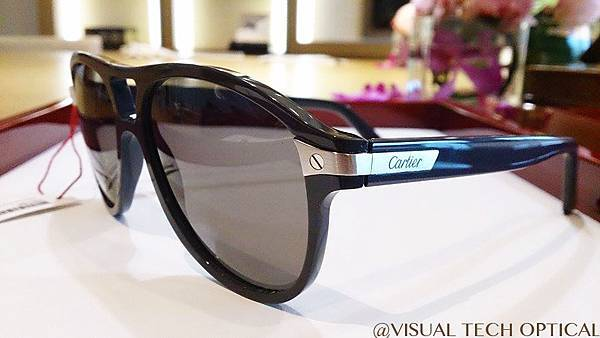 Cartier 卡地亞 Santos de Cartier 山度士系列 墨鏡 必久戴眼鏡 Visual Tech Optical