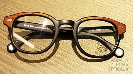 MOSCOT 100 Lemtosh Wood @必久戴眼鏡