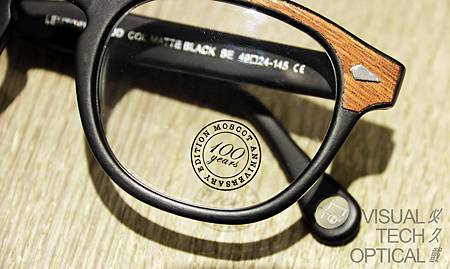 MOSCOT 100 Lemtosh Wood@必久戴眼鏡