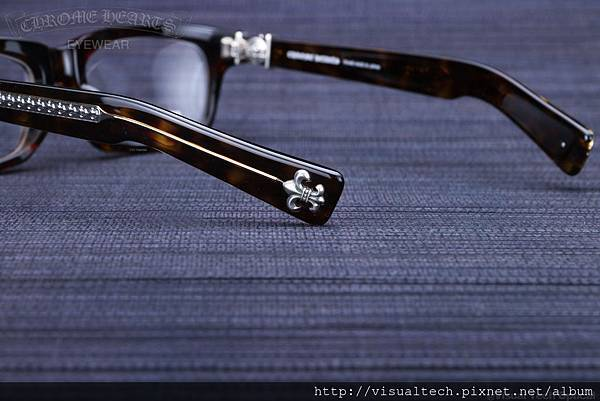 Chrome Hearts SPLAT-A @必久戴眼鏡 Visual Tech Optical