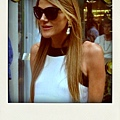 Anna Dello Russo in 'Manahattan' Oliver Goldsmith Sunglasses