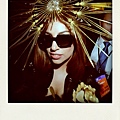 Gaga in 'Ingema' Oliver Goldsmith Sunglasses