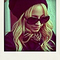 Nicole Richie in 'Audrey' Oliver Goldsmith Sunglasses