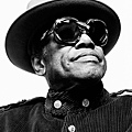 Bobby Womack in handmade Oliver Goldsmith Sunglasses
