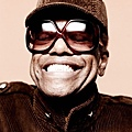 Bobby Womack in handmade Oliver Goldsmith Sunglasses for Clash Magazine