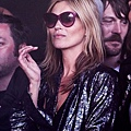 Kate Moss wearing Manhattan 'Grape' - Oliver Goldsmith Sunglasses
