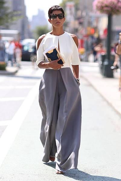 Princess DeenaAbdulaziz in NYC. wearing her Oliver Goldsmith sunglasses in Dark Tortoiseshell.