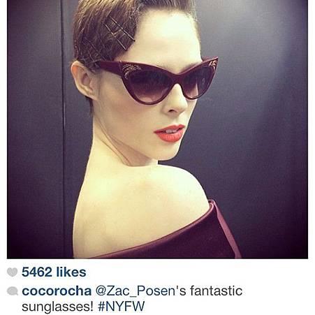 Zac Posen eyewear @必久戴眼鏡