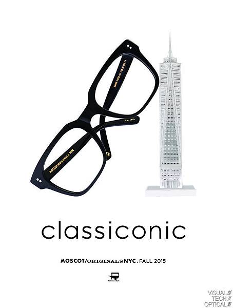 Moscot Original Classiconic ZAYDE Freedom @必久戴眼鏡