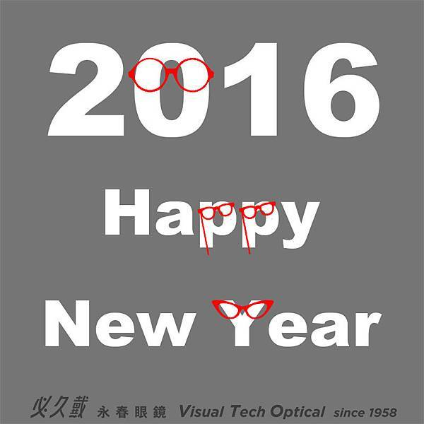 happynewyear必久戴眼鏡 Visual Tech Optical