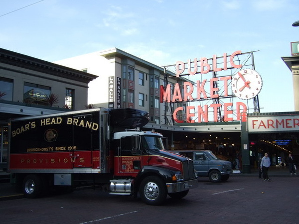 西雅圖的清晨~前往派克市場尋找第一家Starbucks