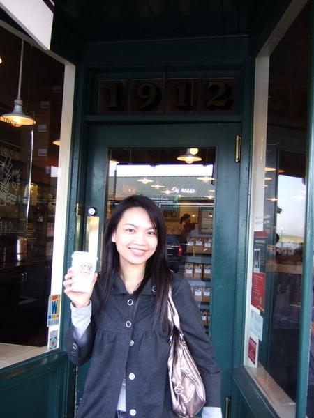 第一家Starbucks~咖啡當早餐喝