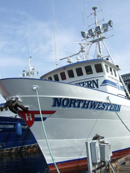 西雅圖~此行第一個任務-西北號捕蟹船