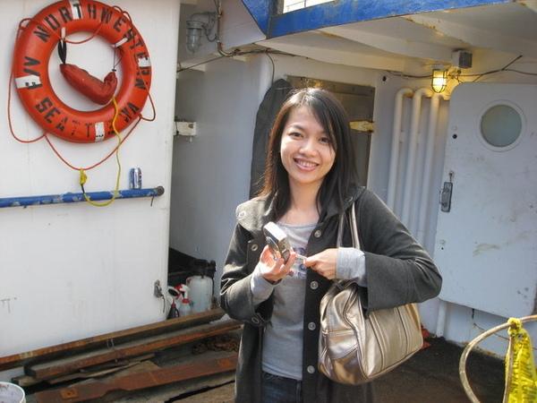 西雅圖~西北號捕蟹船上