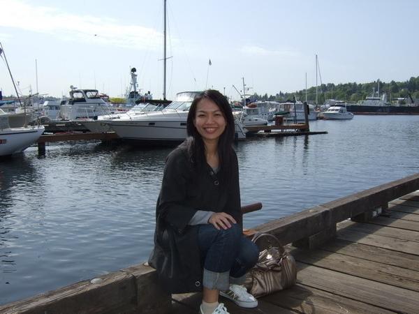 西雅圖-採訪捕蟹船的空檔