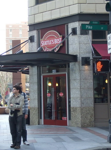 西雅圖-到處都是咖啡廳,這真是一個咖啡的城市