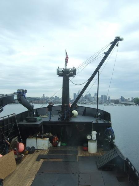 搭捕蟹船時光大盜號遊西雅圖港灣