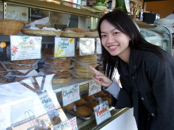 西雅圖-美國什麼都大,連餅都好大