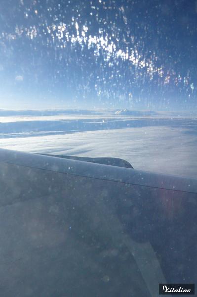 回程時的藍天
