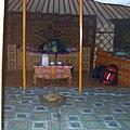 在Kharkhorin住的小床