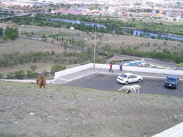 烏蘭巴托的紀念碑