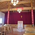 雲南民族文化村裡的教堂