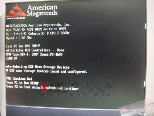 主機板維修)華碩ASUS P5VDC-MX抓不到記憶體維修實例@ 筆電維修